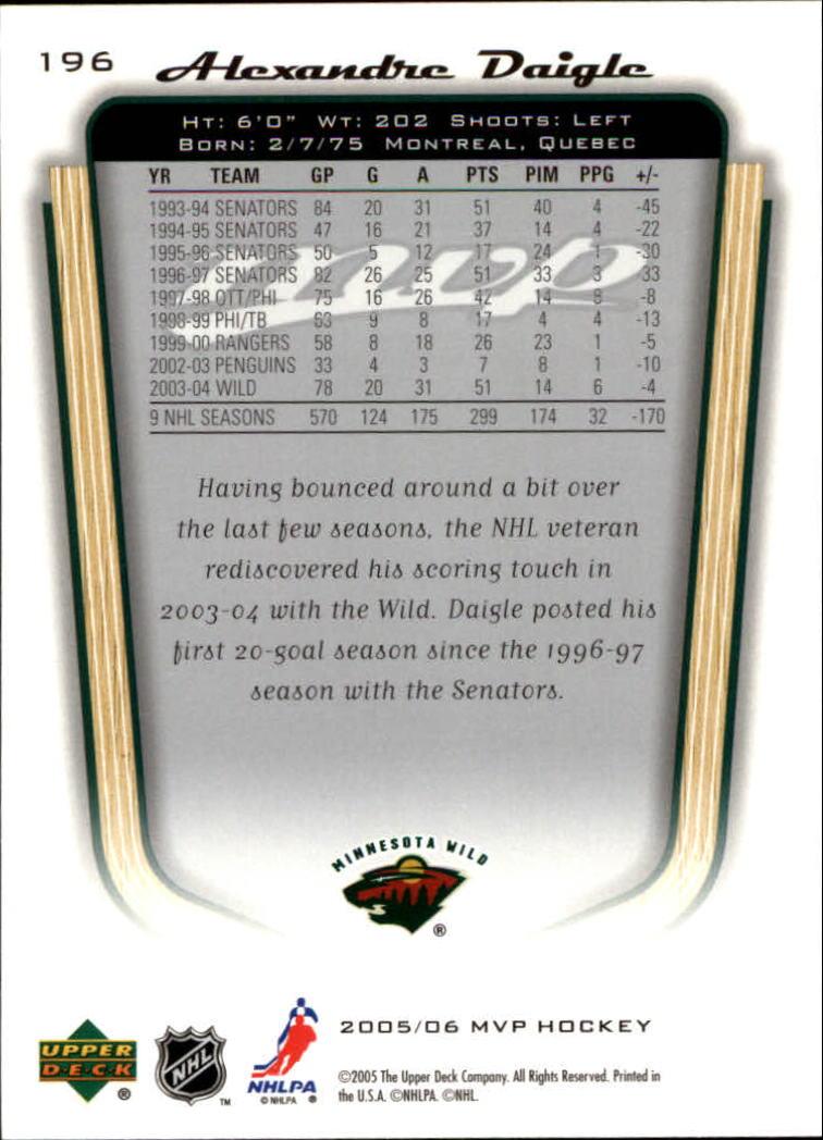 2005-06-Upper-Deck-MVP-Hockey-Card-Pick-1-250 thumbnail 366