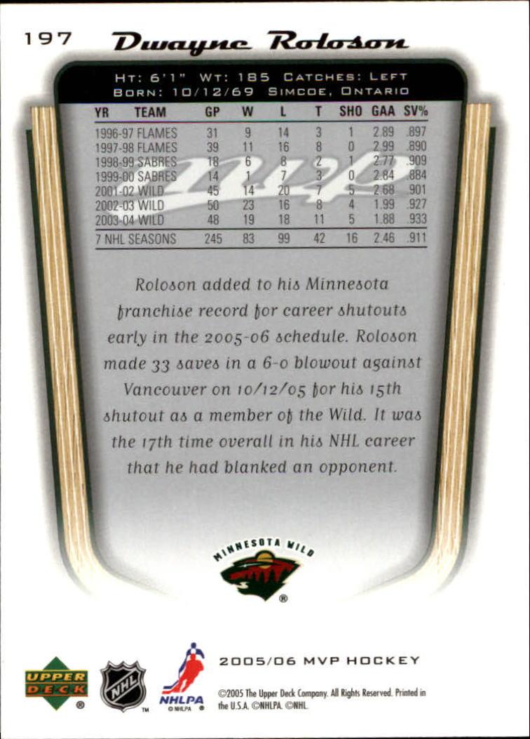 2005-06-Upper-Deck-MVP-Hockey-Card-Pick-1-250 thumbnail 368