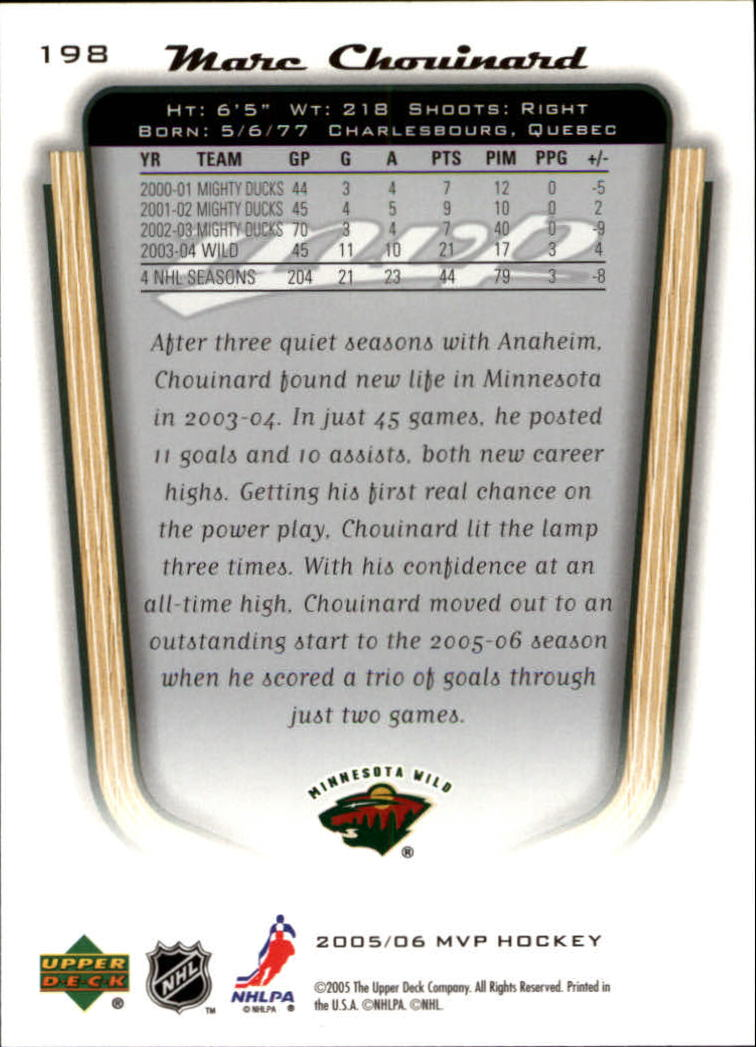 2005-06-Upper-Deck-MVP-Hockey-Card-Pick-1-250 thumbnail 370