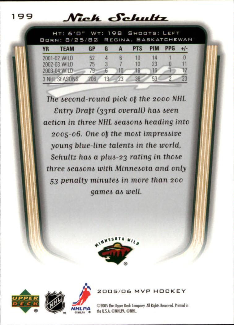 2005-06-Upper-Deck-MVP-Hockey-Card-Pick-1-250 thumbnail 372