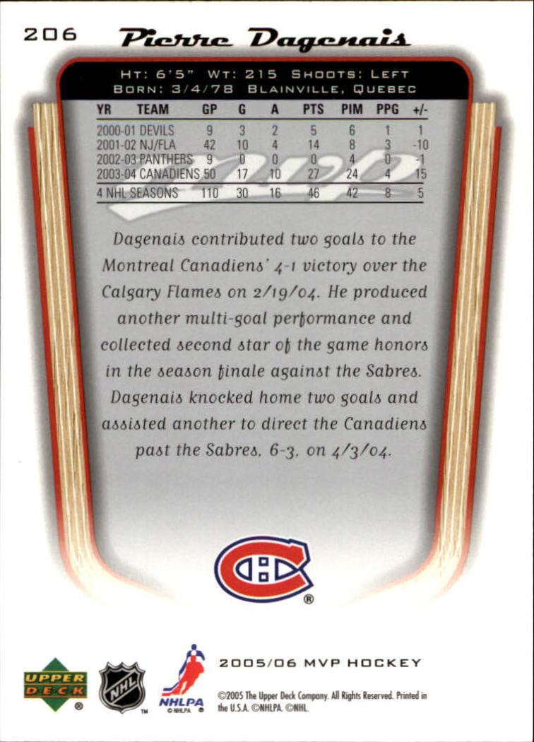 2005-06-Upper-Deck-MVP-Hockey-Card-Pick-1-250 thumbnail 384