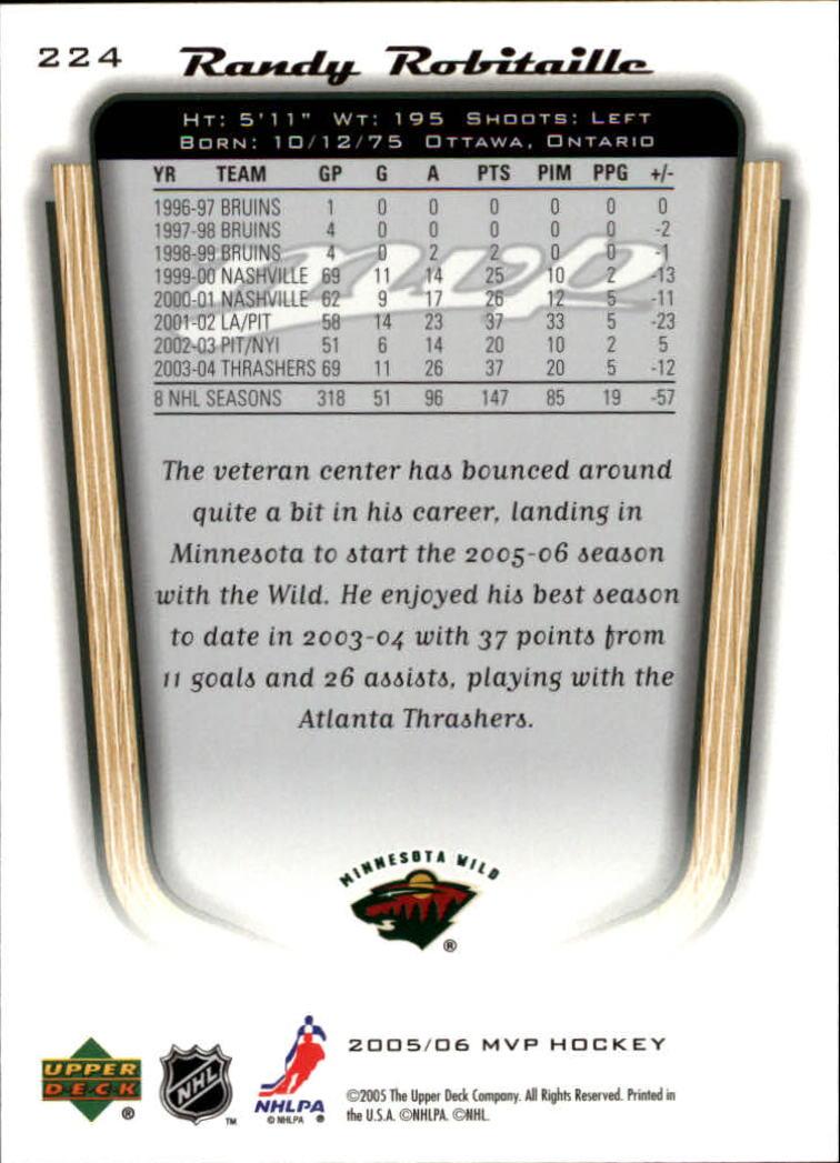 2005-06-Upper-Deck-MVP-Hockey-Card-Pick-1-250 thumbnail 418