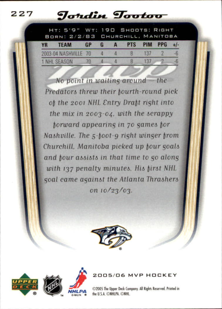 2005-06-Upper-Deck-MVP-Hockey-Card-Pick-1-250 thumbnail 424