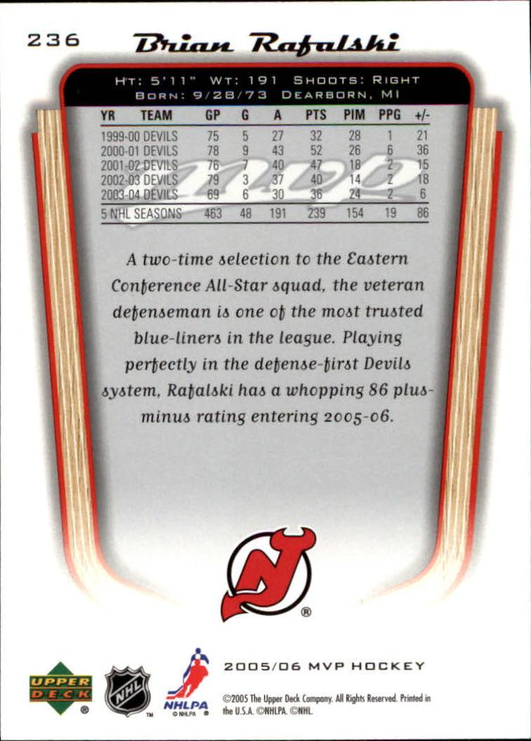 2005-06-Upper-Deck-MVP-Hockey-Card-Pick-1-250 thumbnail 438