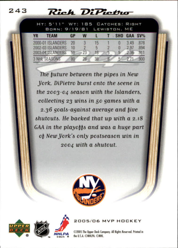 2005-06-Upper-Deck-MVP-Hockey-Card-Pick-1-250 thumbnail 452