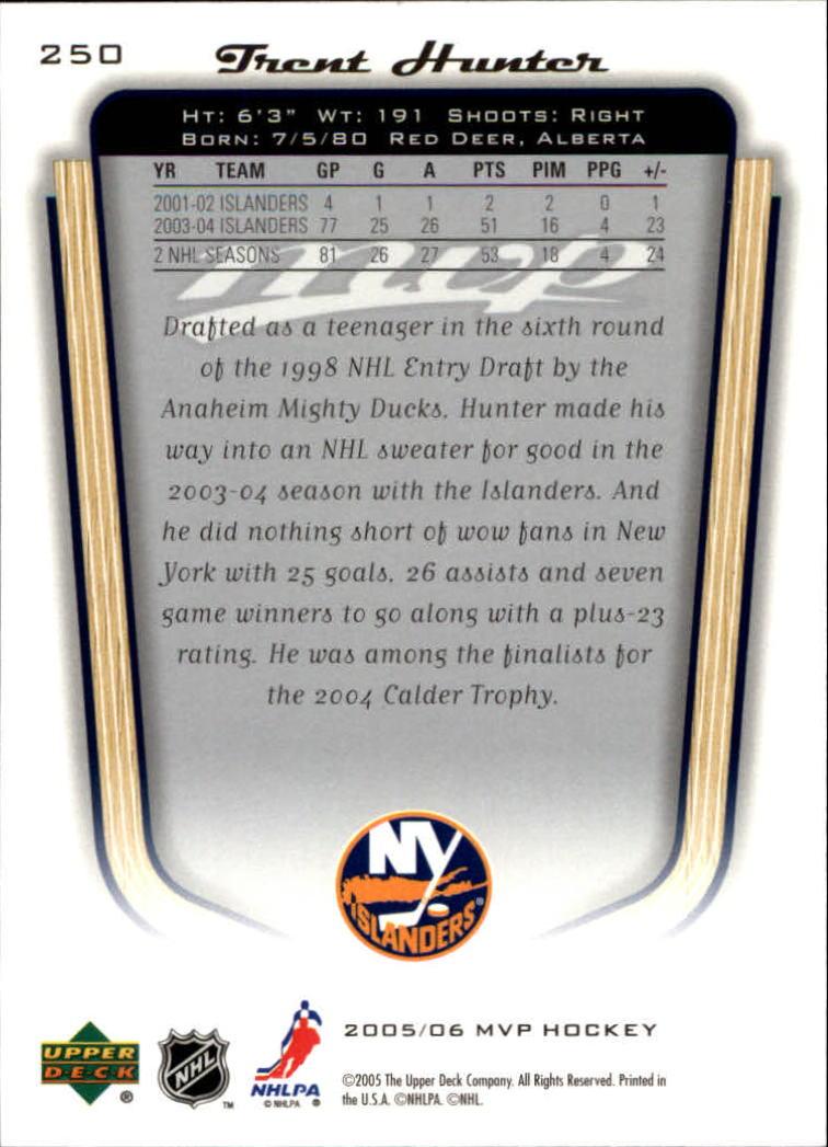 2005-06-Upper-Deck-MVP-Hockey-Card-Pick-1-250 thumbnail 466