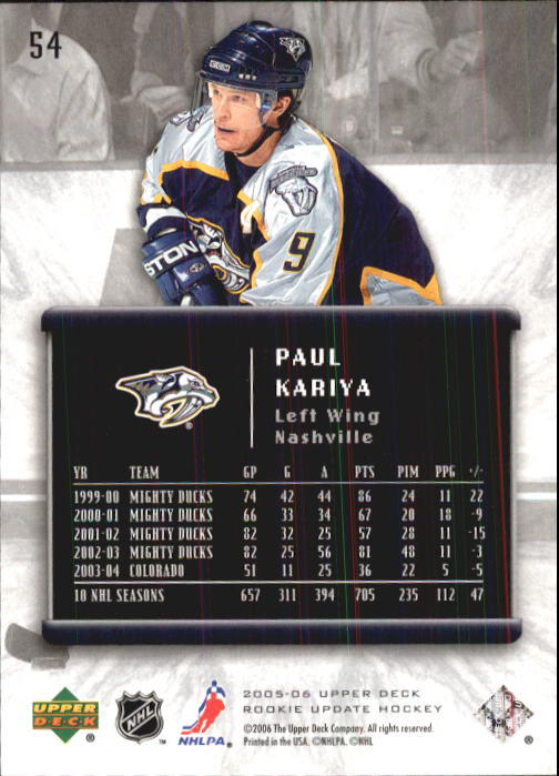 2005-06-Upper-Deck-Rookie-Update-Hk-1-100-A2826-You-Pick-10-FREE-SHIP thumbnail 109