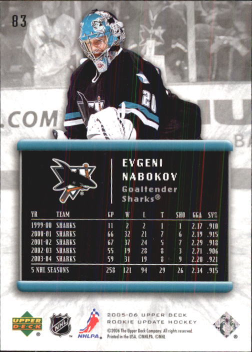 2005-06-Upper-Deck-Rookie-Update-Hk-1-100-A2826-You-Pick-10-FREE-SHIP thumbnail 167