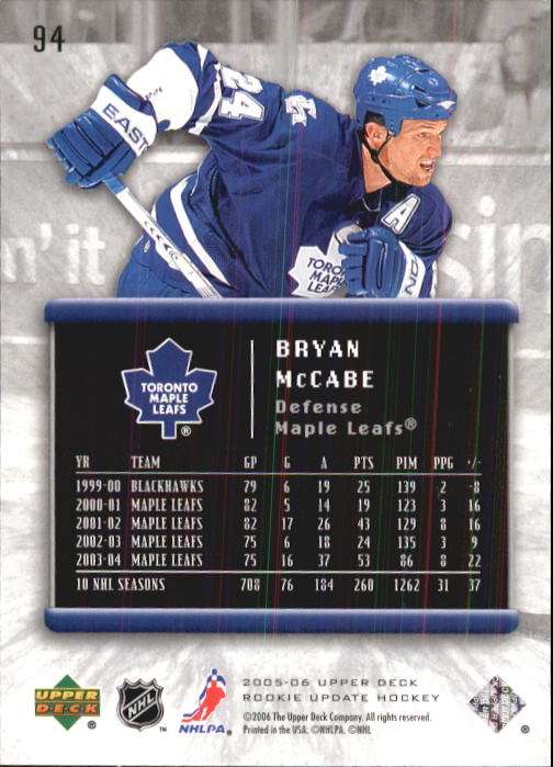 2005-06-Upper-Deck-Rookie-Update-Hk-1-100-A2826-You-Pick-10-FREE-SHIP thumbnail 189