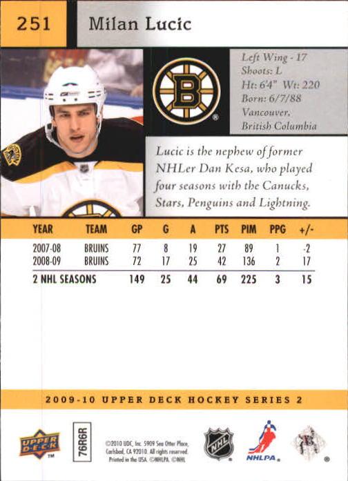 2009-10-Upper-Deck-Hk-Card-s-251-500-Rookies-U-Pick-Buy-10-cards-FREE-SHIP thumbnail 3