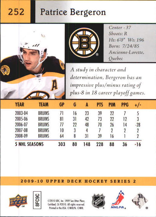 2009-10-Upper-Deck-Hk-Card-s-251-500-Rookies-U-Pick-Buy-10-cards-FREE-SHIP thumbnail 5