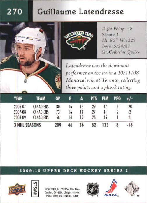 2009-10-Upper-Deck-Hk-Card-s-251-500-Rookies-U-Pick-Buy-10-cards-FREE-SHIP thumbnail 41