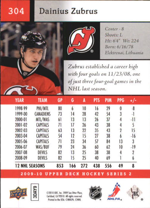 2009-10-Upper-Deck-Hk-Card-s-251-500-Rookies-U-Pick-Buy-10-cards-FREE-SHIP thumbnail 109