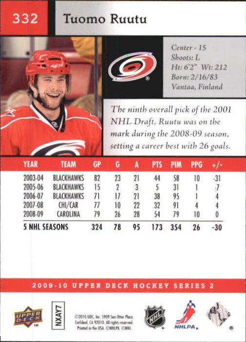 2009-10-Upper-Deck-Hk-Card-s-251-500-Rookies-U-Pick-Buy-10-cards-FREE-SHIP thumbnail 165
