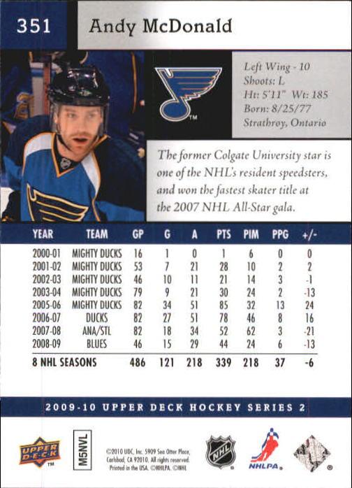 2009-10-Upper-Deck-Hk-Card-s-251-500-Rookies-U-Pick-Buy-10-cards-FREE-SHIP thumbnail 203