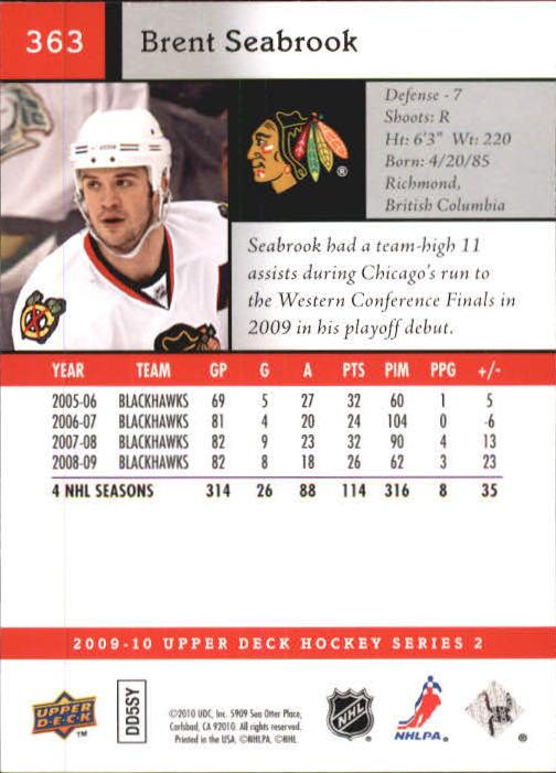 2009-10-Upper-Deck-Hk-Card-s-251-500-Rookies-U-Pick-Buy-10-cards-FREE-SHIP thumbnail 227