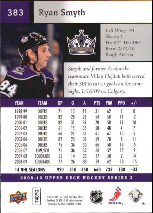 2009-10-Upper-Deck-Hk-Card-s-251-500-Rookies-U-Pick-Buy-10-cards-FREE-SHIP thumbnail 267