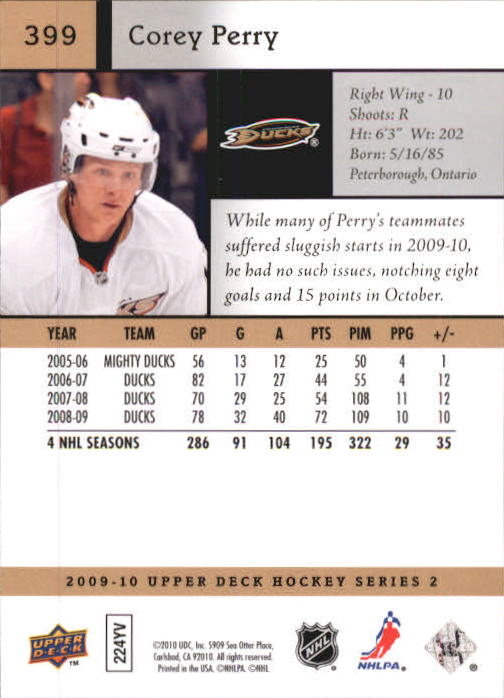 2009-10-Upper-Deck-Hk-Card-s-251-500-Rookies-U-Pick-Buy-10-cards-FREE-SHIP thumbnail 299