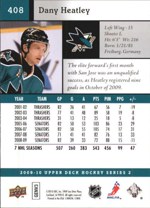 2009-10-Upper-Deck-Hk-Card-s-251-500-Rookies-U-Pick-Buy-10-cards-FREE-SHIP thumbnail 315