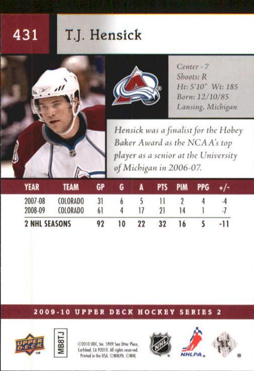 2009-10-Upper-Deck-Hk-Card-s-251-500-Rookies-U-Pick-Buy-10-cards-FREE-SHIP thumbnail 361