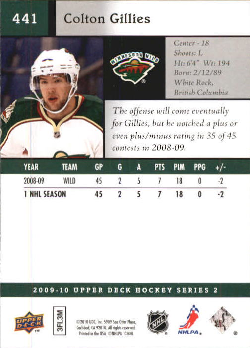 2009-10-Upper-Deck-Hk-Card-s-251-500-Rookies-U-Pick-Buy-10-cards-FREE-SHIP thumbnail 381
