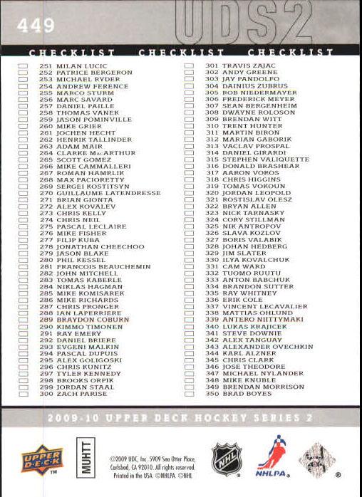 2009-10-Upper-Deck-Hk-Card-s-251-500-Rookies-U-Pick-Buy-10-cards-FREE-SHIP thumbnail 397