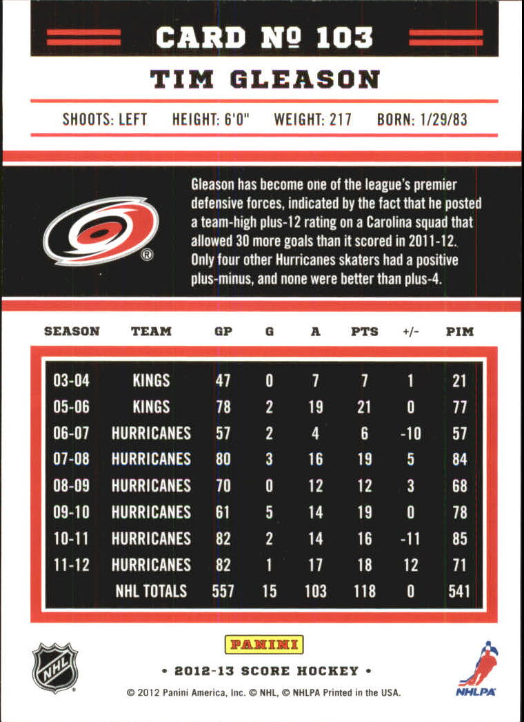 2012-13-Score-Gold-Rush-Parallel-Hockey-Cards-Huge-List-Combined-Shipping miniature 29