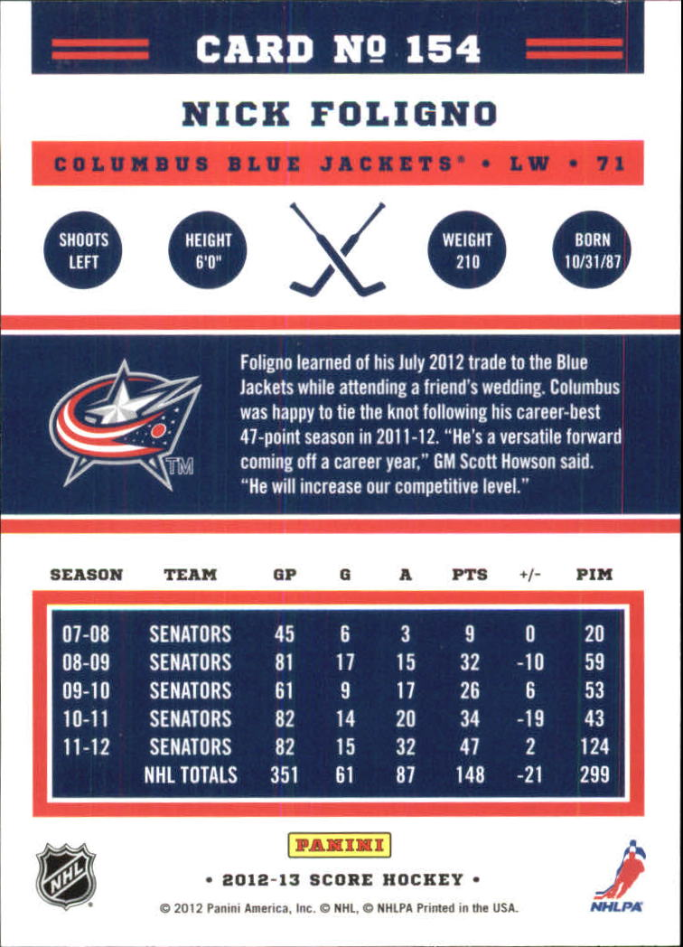 2012-13-Score-Gold-Rush-Parallel-Hockey-Cards-Huge-List-Combined-Shipping miniature 39