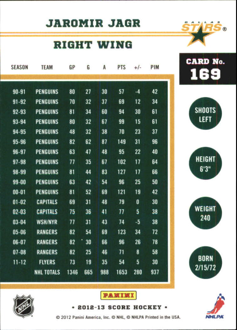 2012-13-Score-Gold-Rush-Parallel-Hockey-Cards-Huge-List-Combined-Shipping miniature 45