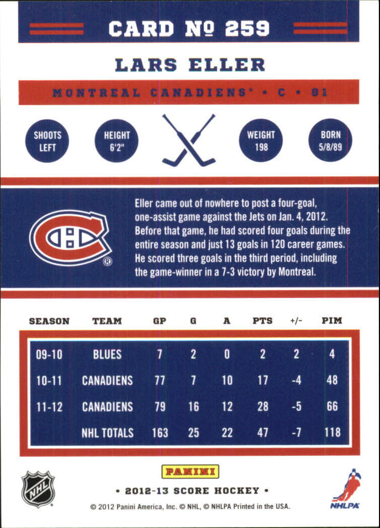 2012-13-Score-Gold-Rush-Parallel-Hockey-Cards-Huge-List-Combined-Shipping miniature 94