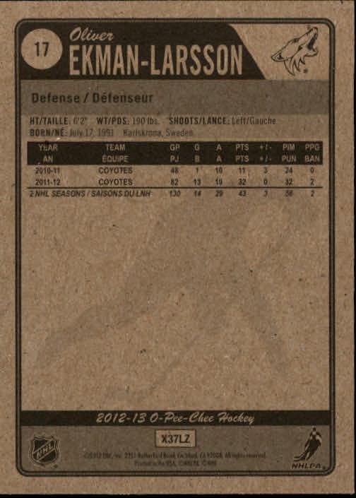 2012-13-O-Pee-Chee-Hockey-Card-039-s-1-200-You-Pick-Buy-10-cards-FREE-SHIP thumbnail 35