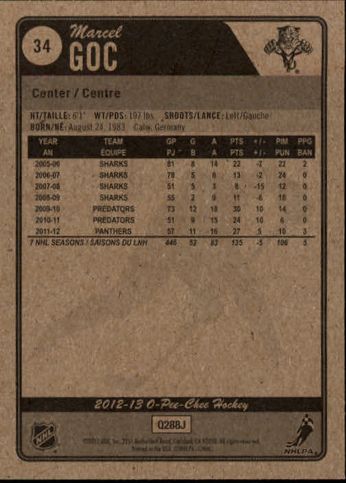 2012-13-O-Pee-Chee-Hockey-Card-039-s-1-200-You-Pick-Buy-10-cards-FREE-SHIP thumbnail 69