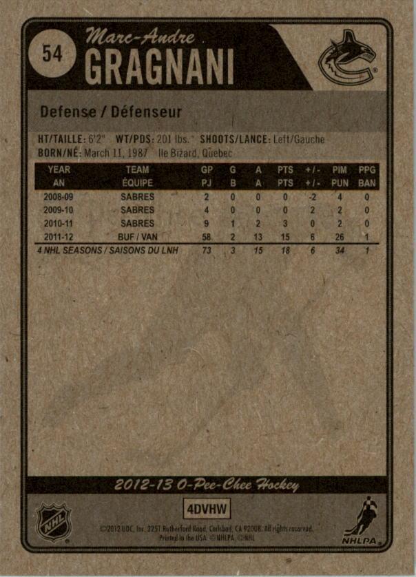 2012-13-O-Pee-Chee-Hockey-Card-039-s-1-200-You-Pick-Buy-10-cards-FREE-SHIP thumbnail 109