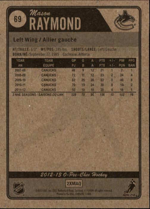 2012-13-O-Pee-Chee-Hockey-Card-039-s-1-200-You-Pick-Buy-10-cards-FREE-SHIP thumbnail 139