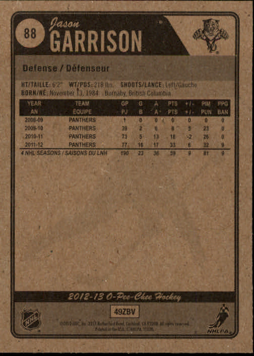 2012-13-O-Pee-Chee-Hockey-Card-039-s-1-200-You-Pick-Buy-10-cards-FREE-SHIP thumbnail 177