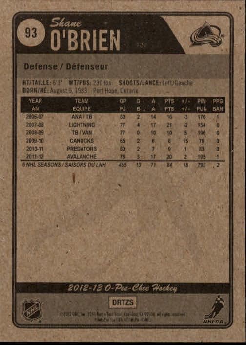 2012-13-O-Pee-Chee-Hockey-Card-039-s-1-200-You-Pick-Buy-10-cards-FREE-SHIP thumbnail 187