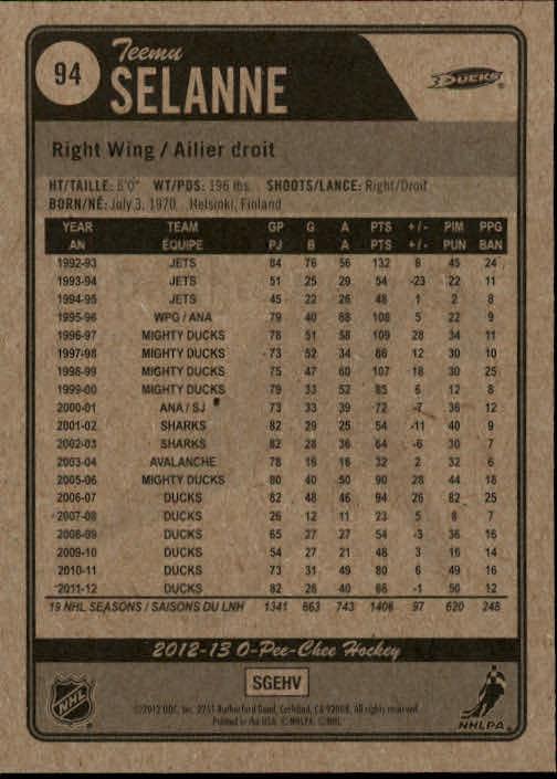 2012-13-O-Pee-Chee-Hockey-Card-039-s-1-200-You-Pick-Buy-10-cards-FREE-SHIP thumbnail 189