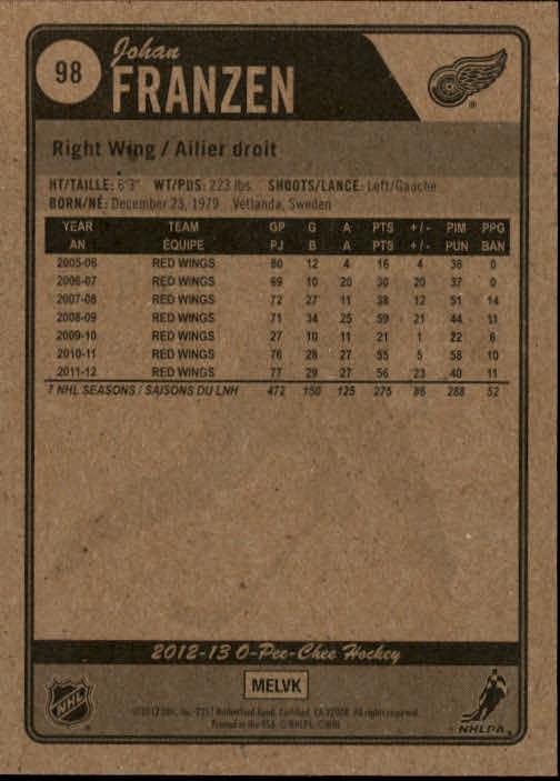 2012-13-O-Pee-Chee-Hockey-Card-039-s-1-200-You-Pick-Buy-10-cards-FREE-SHIP thumbnail 197