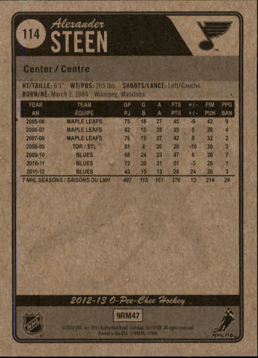 2012-13-O-Pee-Chee-Hockey-Card-039-s-1-200-You-Pick-Buy-10-cards-FREE-SHIP thumbnail 227