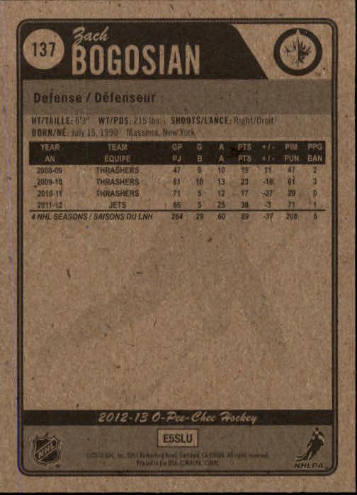 2012-13-O-Pee-Chee-Hockey-Card-039-s-1-200-You-Pick-Buy-10-cards-FREE-SHIP thumbnail 270