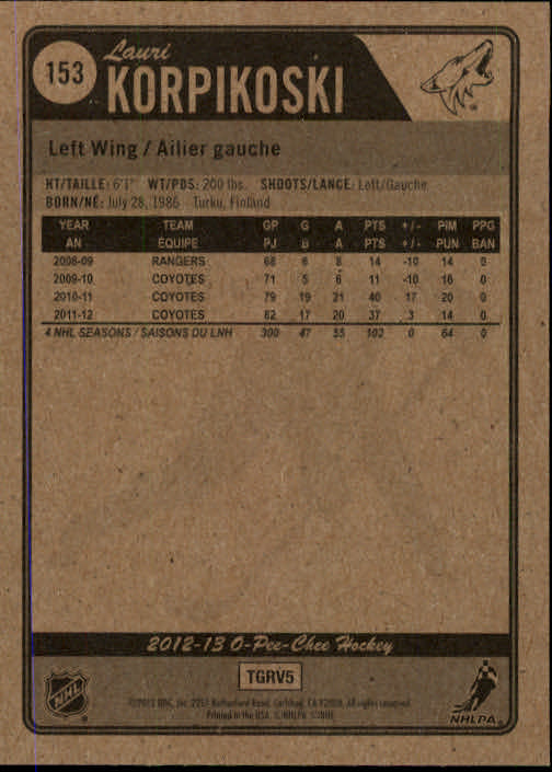 2012-13-O-Pee-Chee-Hockey-Card-039-s-1-200-You-Pick-Buy-10-cards-FREE-SHIP thumbnail 302