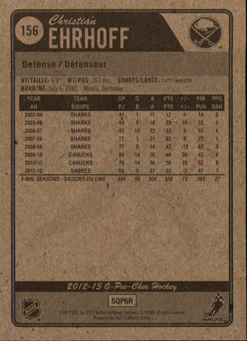 2012-13-O-Pee-Chee-Hockey-Card-039-s-1-200-You-Pick-Buy-10-cards-FREE-SHIP thumbnail 308