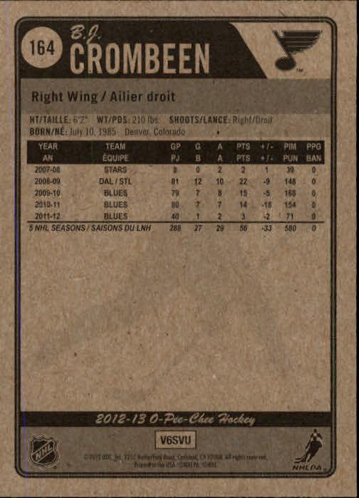 2012-13-O-Pee-Chee-Hockey-Card-039-s-1-200-You-Pick-Buy-10-cards-FREE-SHIP thumbnail 324