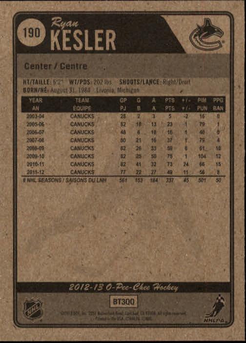 2012-13-O-Pee-Chee-Hockey-Card-039-s-1-200-You-Pick-Buy-10-cards-FREE-SHIP thumbnail 376