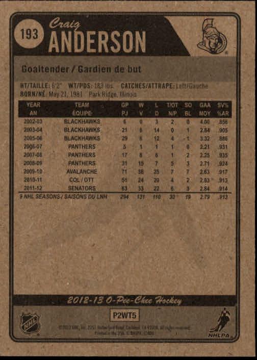 2012-13-O-Pee-Chee-Hockey-Card-039-s-1-200-You-Pick-Buy-10-cards-FREE-SHIP thumbnail 382