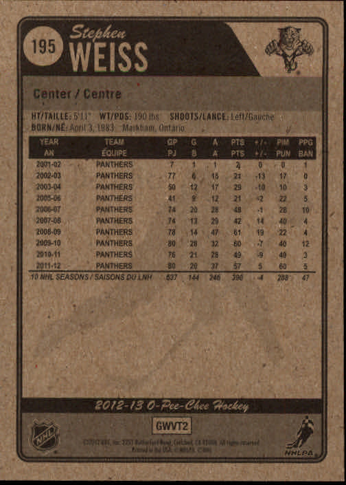 2012-13-O-Pee-Chee-Hockey-Card-039-s-1-200-You-Pick-Buy-10-cards-FREE-SHIP thumbnail 386