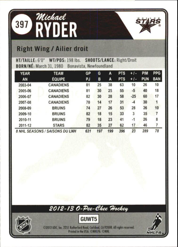 2012-13-O-Pee-Chee-Rainbow-Hockey-s-1-600-You-Pick-Buy-10-cards-FREE-SHIP thumbnail 36