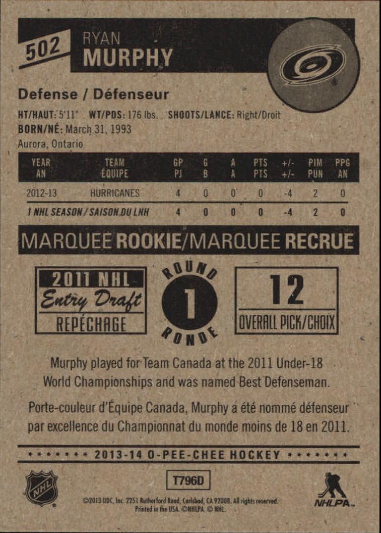 2013-14-Pee-O-Chee-Hk-base-501-642-Rookies-YOU-Pick-acquista-carte-10-SPEDIZIONE-GRATUITA miniatura 3
