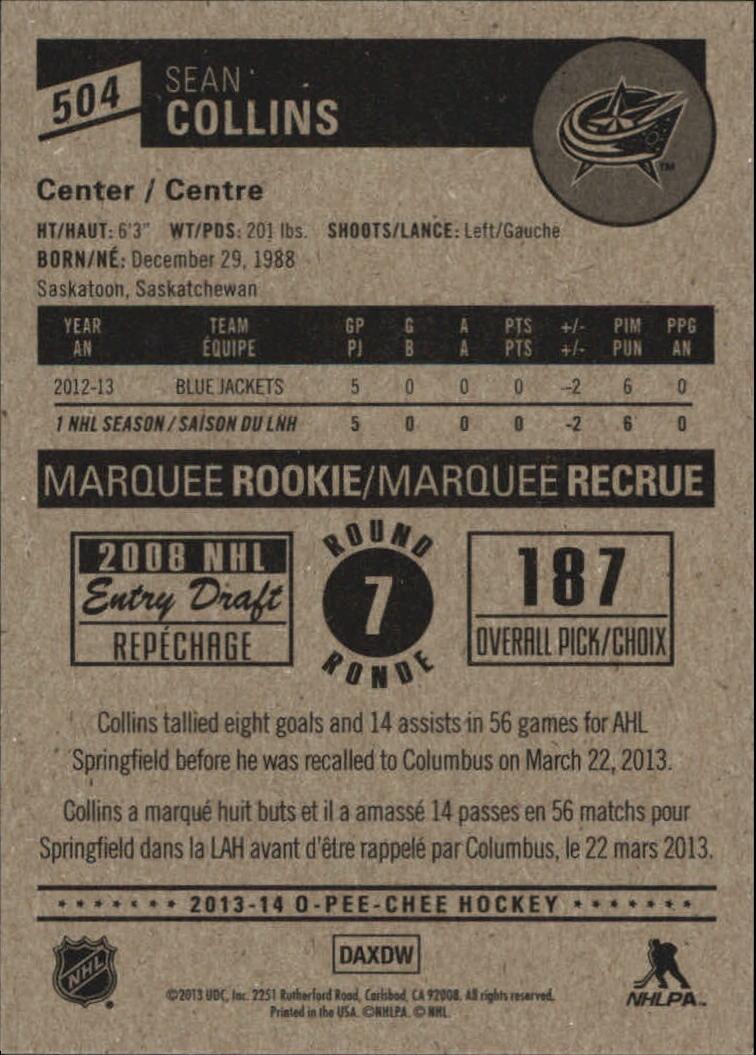 2013-14-Pee-O-Chee-Hk-base-501-642-Rookies-YOU-Pick-acquista-carte-10-SPEDIZIONE-GRATUITA miniatura 7