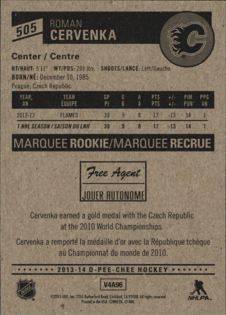 2013-14-Pee-O-Chee-Hk-base-501-642-Rookies-YOU-Pick-acquista-carte-10-SPEDIZIONE-GRATUITA miniatura 9